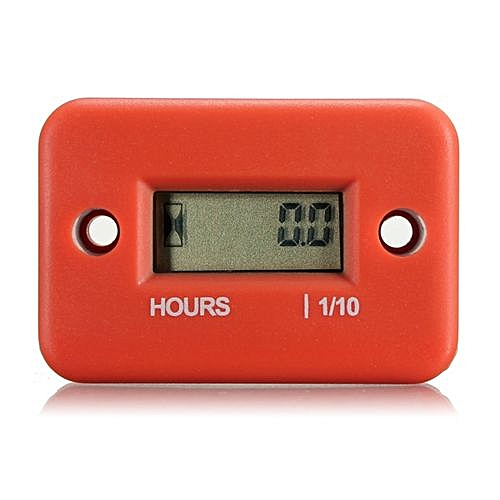 Inductive Hour Meter For Digital LCD Motorcycle Marine ATV Snowmobile Timer