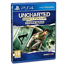 PS4 Game Uncharted Drakes fortune Remastered