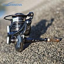 TSURINOYA JAGUAR Double Spool 5:2:1 Fishing Reel Fish Tackle-COLORMIX