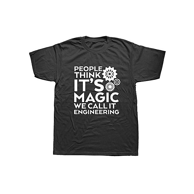 13fc783d Funny Engineer Male T Shirt Loose We Call It Engineering T-Shirt Men's  Summer Cotton