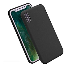 Bakeey Candy Color Matte Soft Silicone TPU Case for iPhone X