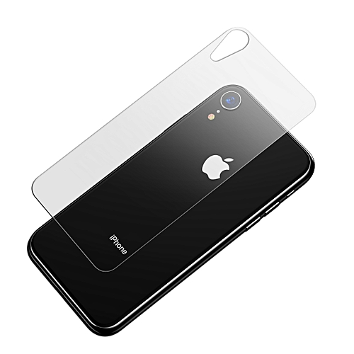 low priced 22229 d5336 Baseus 0.3mm Tempered Glass Protector Back Screen Film for iPhone XR  (Transparent)
