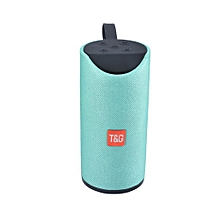 TG113 Outdoor BT Portable Speaker Wireless Mini TF Card and USB Disk Loudspeaker Green