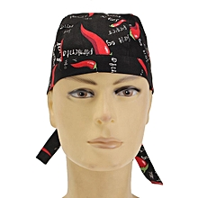 Chef Cook Hat Cap Headscarf Professional Catering Various Colourful Restaurant
