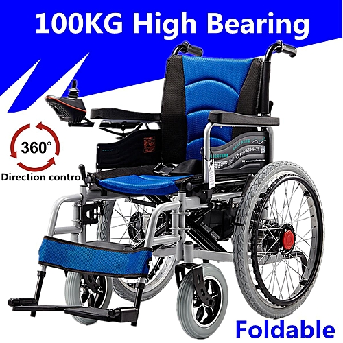 c1dbcff82a9 Generic Folding Electric Wheelchairs Dual Motors Elderly Disabled Scooter  Security Alert