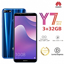 "Y7 Prime (2018) 5.99"" - 3GB Ram - 32GB Rom - Camera 13 MP - (Dual Sim) -Blue"