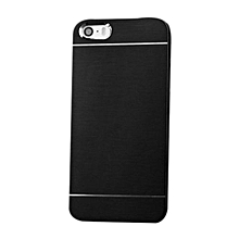Metal Brushed Aluminum Back Case Cover Black For IPhone 5/5s