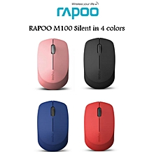 M100 Silent Multi-Mode Wireless Mouse-Official Malaysia Set HT