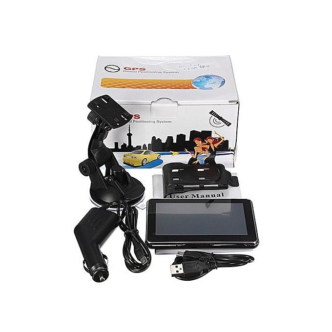 4GB 5'' TFT Touch Screen Auto Car GPS Navigation SAT NAV FM Free Map Update  MP3 America