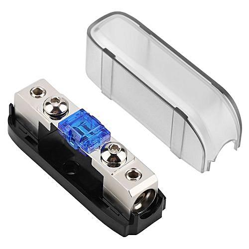 generic car stereo fuse holder, auto agu audio fuse box power distribution  block 4ga in 4ga out,single way
