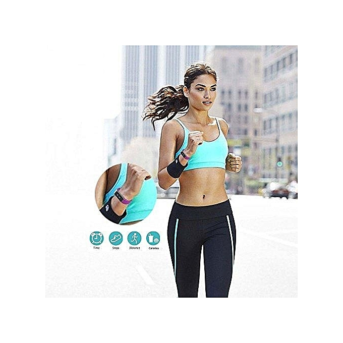 Fitness Tracker OLED Touch Screen Health Smart Wristband Pedometer Calorie  Sleep Monitor Call ReminderSmart Bracelet for Android IOS Smartphone