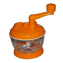 Cabbage Sukumawiki Vegetable Cutter Chopper Shredder – Orange
