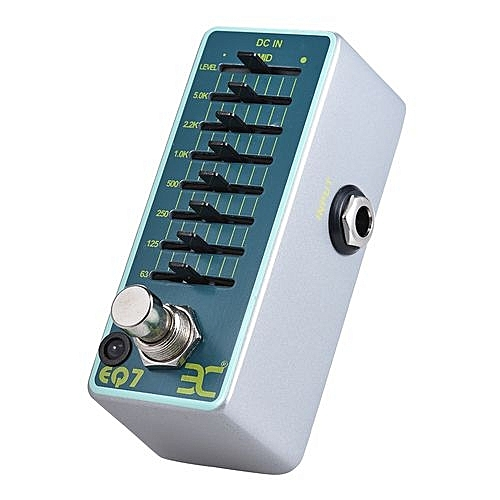 eno eno ex eq7 guitar equalizer effect pedal 7 band eq full metal shell true bypass best price. Black Bedroom Furniture Sets. Home Design Ideas
