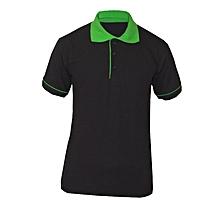 Green and Black Polo Tshirt