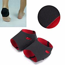 compression fabric heel sleeve