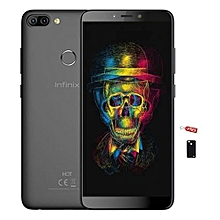 "HOT 6 Pro x608 - [32GB + 3GB RAM] - 6.0"" - Fingerprint - 4000mAh Battery - 4G LTE - Face ID - Sandstone Black + Free protective Case"