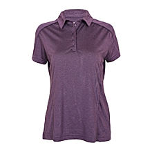Mulberry Purple Ladies Polo T-Shirt