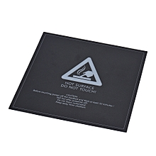 1pc 300 * 300mm Adhesive Heat Bed Tape Sticker Build Surface Cover Square Sheet Black 3D Printer Parts
