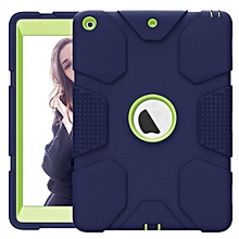 Rugged Heavy Duty High-Impact Shockproof Hard Rubber Protective Case for Apple iPad 5th/6th Generation iPad 9.7 2017/2018 A1822/A1823/A1893/A1954 Mll-S
