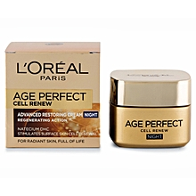 Age Perfect Cell Renew Advanced Restoring Night Cream with Regenerating Action - 50ml