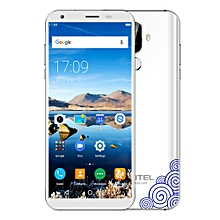OUKITELK5 4G Phablet 5.7 inch Android 7.0 MTK6737T Quad Core 1.5GHz 2GB RAM 16GB ROM 4000mAh Battery Dual Rear Cameras Fingerprint Recognition - WHITE