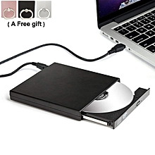 External DVD Drive USB 2.0 CD-RW ROM Combine Drive-Black color