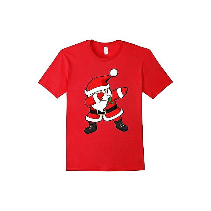8459fa6a7 Men's Personalized T-shirt Dabbing Santa Claus Christmas Dab Novelty Shirt  Mens Funny Tshirts
