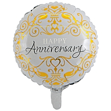 18 Inch Happy Anniversary Foil Air Balloons Wedding Love Themed Party Supplies