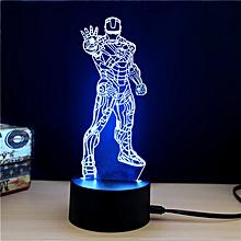 M.Sparkling TD269 Creative Superhero 3D LED Lamp COLORFUL