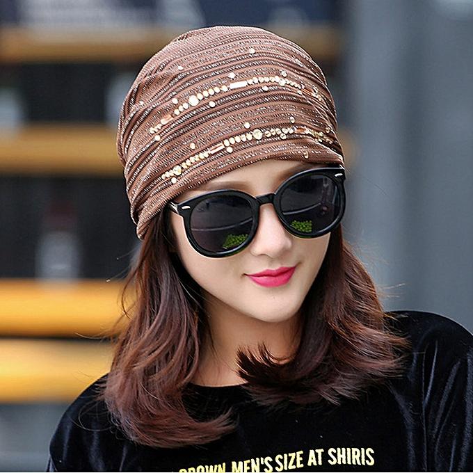 a477aa485 meibaol store Women Hijab Hat Lace Ninja Underscarf Head Islamic Cover  Bonnet Cap Beanie Hat