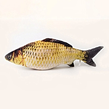 Catnip Fish Cat Toy Funny Cat Toy Fish Cat Pillow Grass Fish multicolour Grass carp S