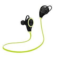 Sports Bluetooth Device Sweatproof Wireless Stereo Headsets Headphone -Green