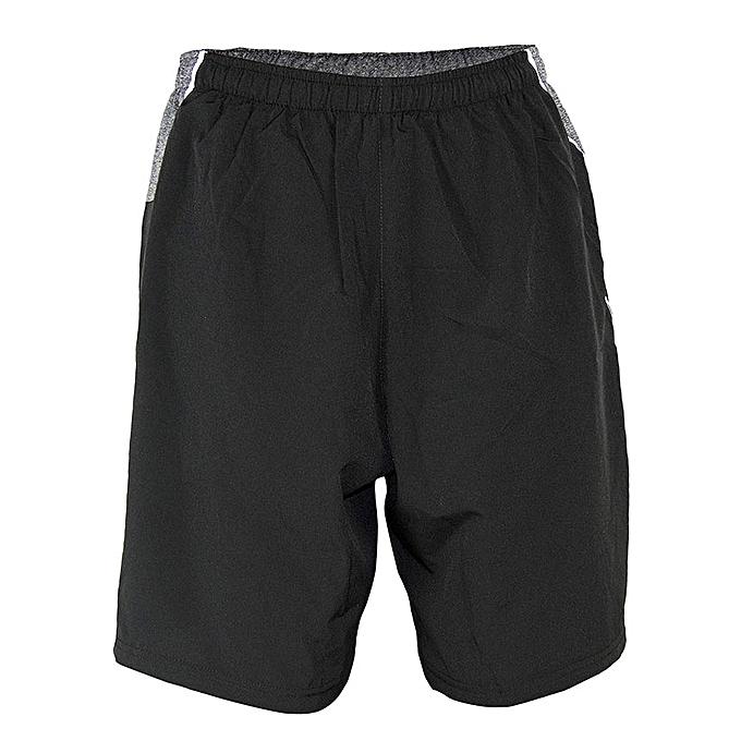 dbba1752105 KAI Active Black High Power Running Shorts @ Best Price Online ...