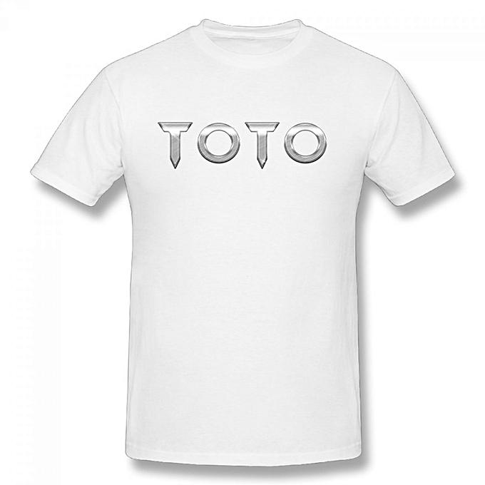 Buy Generic Toto Band Logo Toto XIV Hard Rock Men\'s Cotton Short ...