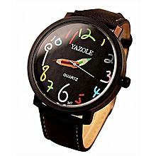Women Watches Female Clock Quartz Watch Ladies Quartz Wrist Watch Black