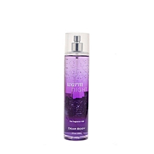 Warm Night fine ftragrance mist - 236 ml