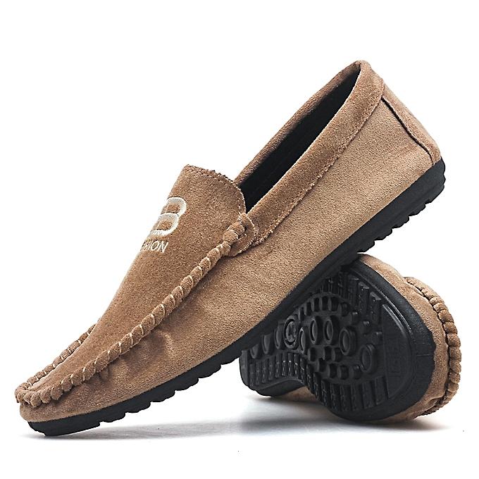 4c3dcf30ffd09 EUR 39-44 New Arrival Suede Loafers Shoes Men Casual Shoes Italian Shoes Men  Flats
