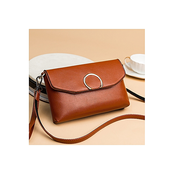 66ed8d0d80 Fashion The brown circle is long to take to add a wrist to takeWin inclined  Ku of old-age soft skin women s bag list shoulder to wrap 2018 new style of  ...
