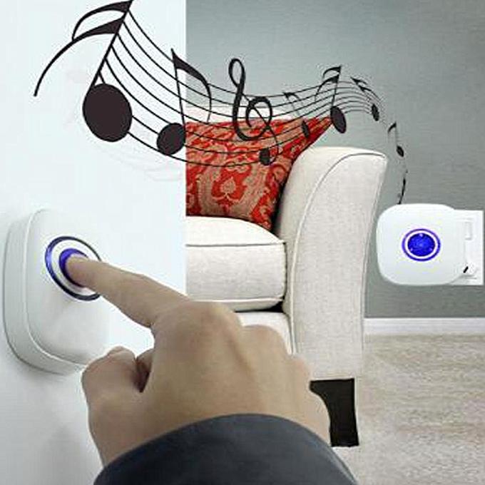 Restaurant Shop Door Entry Wireless Pir Motion Sensor Door Chime Door Bell Alarm