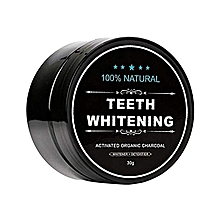 100% Natural Teeth Whitening Activated Organic Charcoal - 30g
