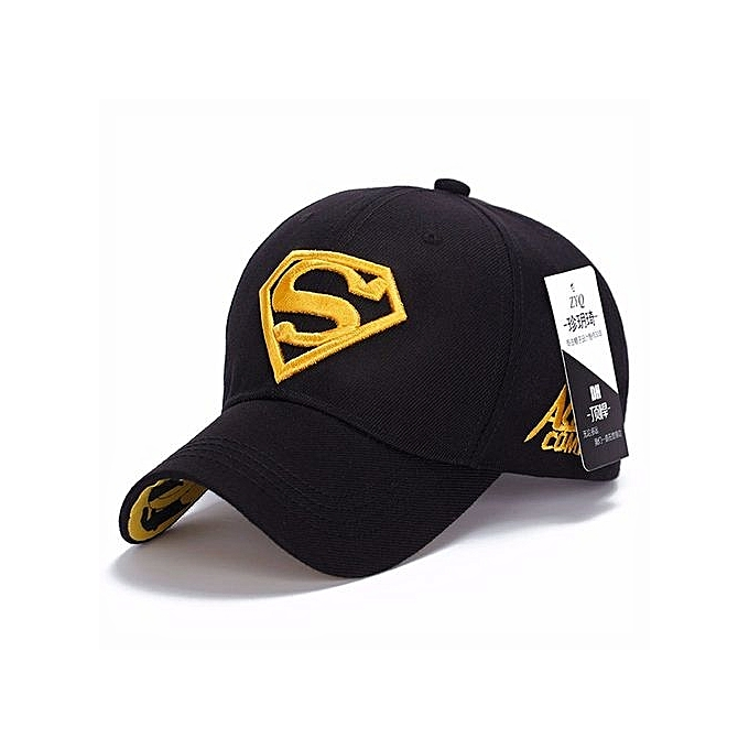 Superman Cap Adjustable Baseball Cap Men Brand Women Bone Diamond Snapback  For Adult Trucker Hat Black bff34402e53