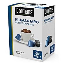 Kilimanjaro Coffee Capsules- 125g