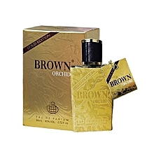 Brown Orchid Perfume for Men EDP - 80ml With free Body Spray