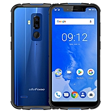 Ulefone Armor 5 5.85-inch (4GB, 64GB ROM) Android 8.1, 5000mAh, (16MP & 5MP) + 13MP, Wireless Charge, IP68 Waterproof Dual Sim 4G LTE Smartphone - Blue