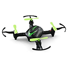 JJRC H48 Micro RC Drone RTF 6-axis Gyro / Screw Free Structure / Two Charging Modes_BLACK AND GREEN