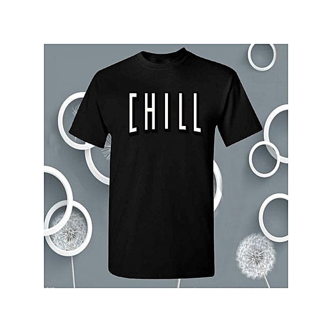 Chill Men's T-shirt Funny Epic Tv Series Cool Gift For Christmas Halloween