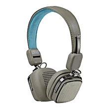 REMAX 200HB Adjustable Soft Leather AUX Wireless Bluetooth 4.1 Headphone Headset