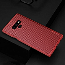 Nillkin Stylish Heat Dissipation Cooling PC Back Cover Case For Samsung Galaxy Note 9 Luxury Protective Cell Phone Case PC