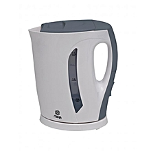 MKT1102 - Kettle, Electric, 1.7L, Cordless - White & Grey