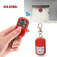 Justgogo 433.92MHz 4 Channels RF Remote Control Duplicator Car Alarm For Gate Door Garage Fast Copy
